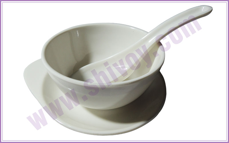 soup sets - melamine catering crockery - plastic crockery - home gift crockery - plastic catering products manufacturers exporters in india punjab ludhiana